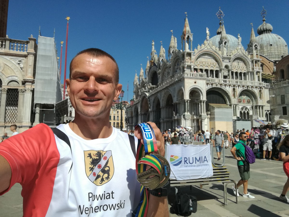 Rumianin z dwoma medalami na Mistrzostwach Europy Masters