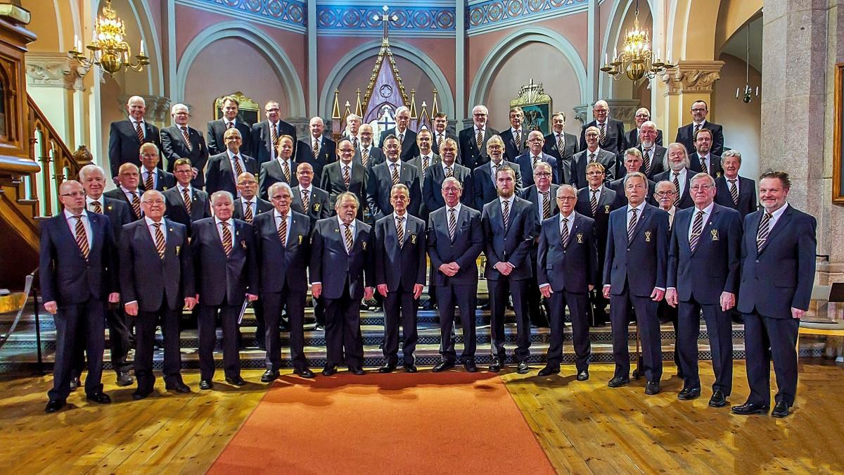 Koncert szwedzkiego chóru męskiego