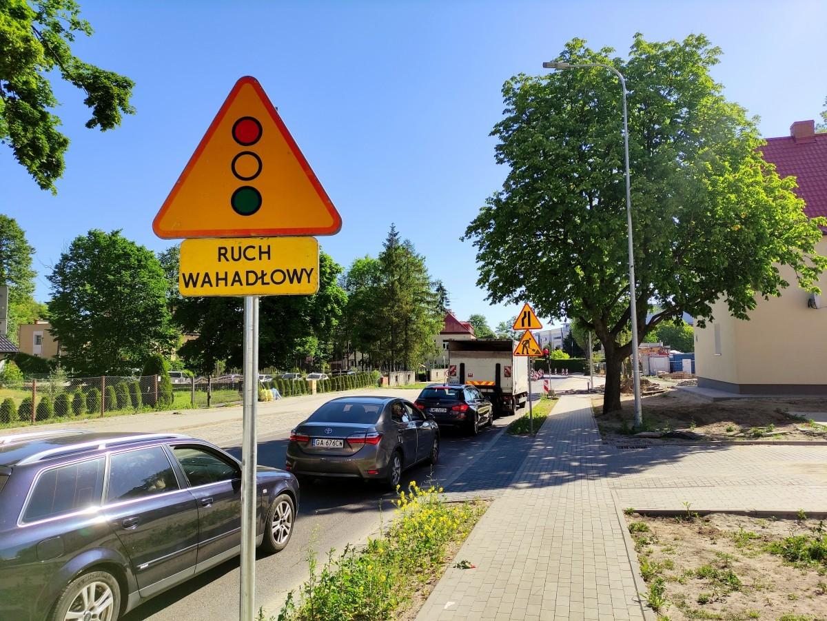 Zmiany organizacji ruchu w obrębie skrzyżowania ulic: Sabata, Młyńskiej, Batorego i Kamiennej