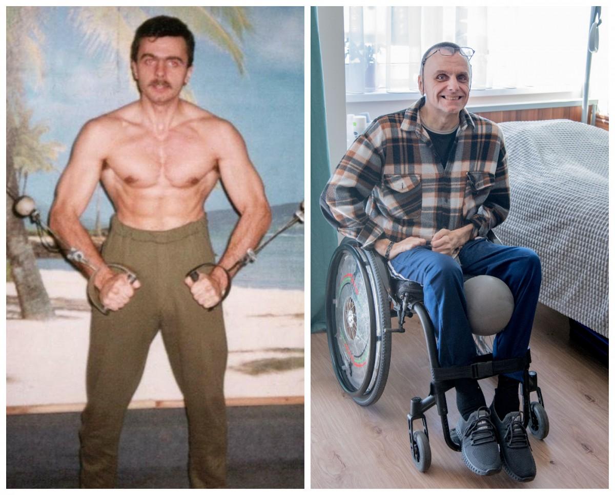 Pan Stanisław, przez znajomych zwany Witkiem, przed i po wypadku
