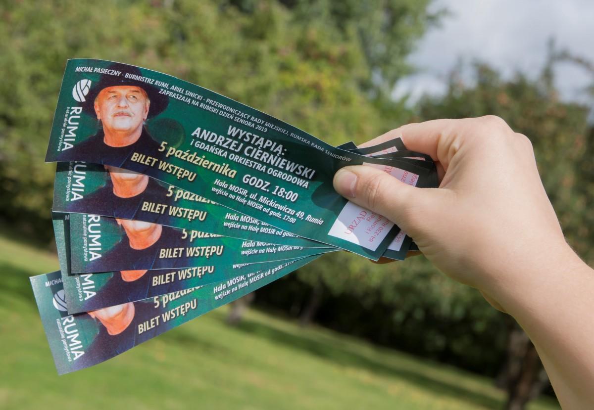 Koncert Andrzeja Cierniewskiego – bezpłatne bilety dla seniorów