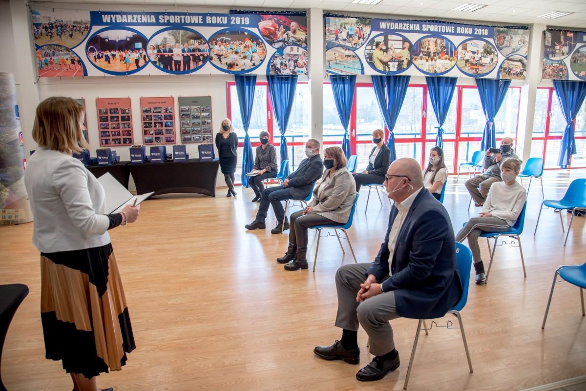 Rumscy sportowcy docenieni przez burmistrza