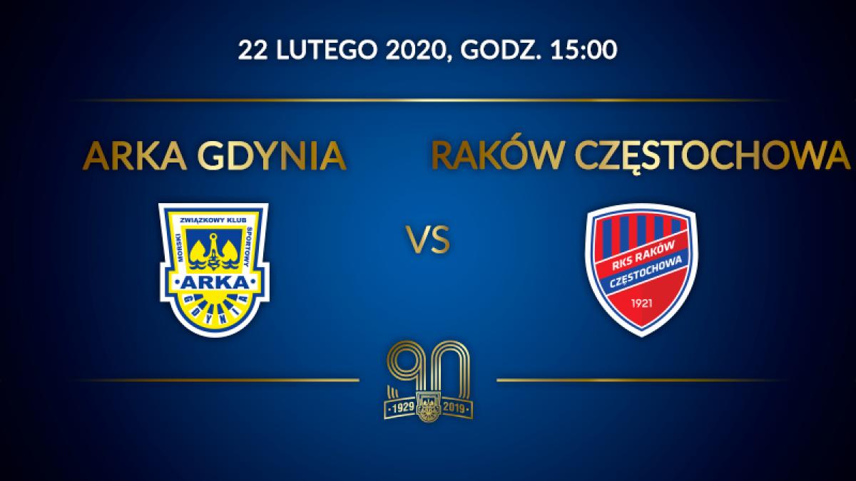 Arka Gdynia vs Raków Częstochowa – bilety dla seniorów