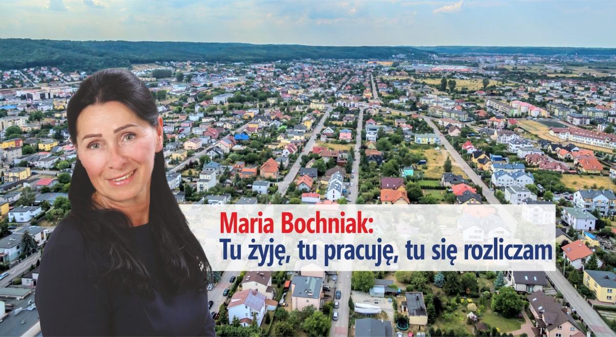 Maria Bochniak, wiceprzewodnicząca Rady Miejskiej Rumi oraz wieloletnia mieszkanka
