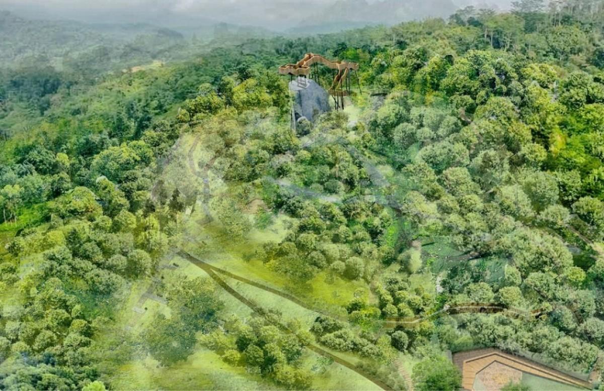 Wizualizacja zagospodarowania Wzgórza Markowca