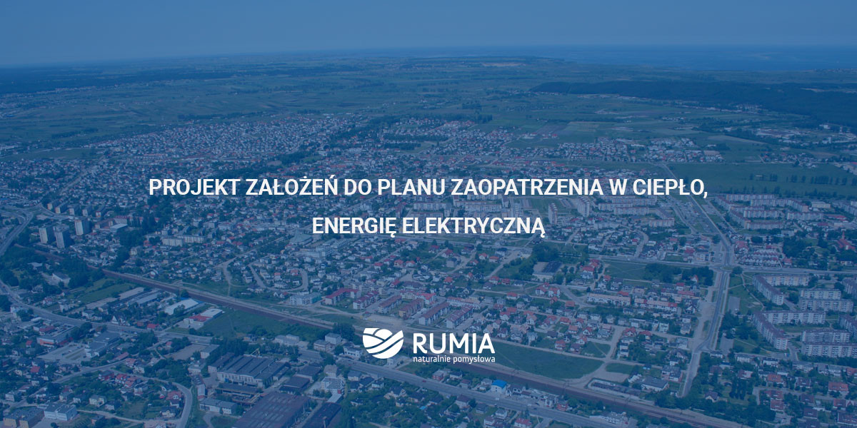 Projekt założeń do planu zaopatrzenia w ciepło, energię elektryczną