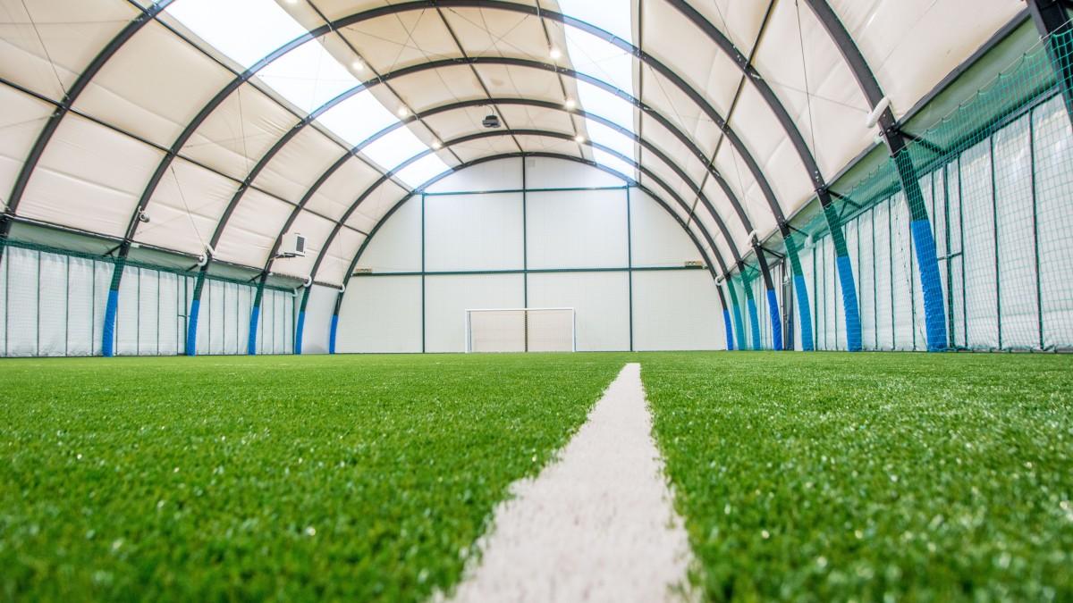 Nowa hala piłkarska już do dyspozycji mieszkańców