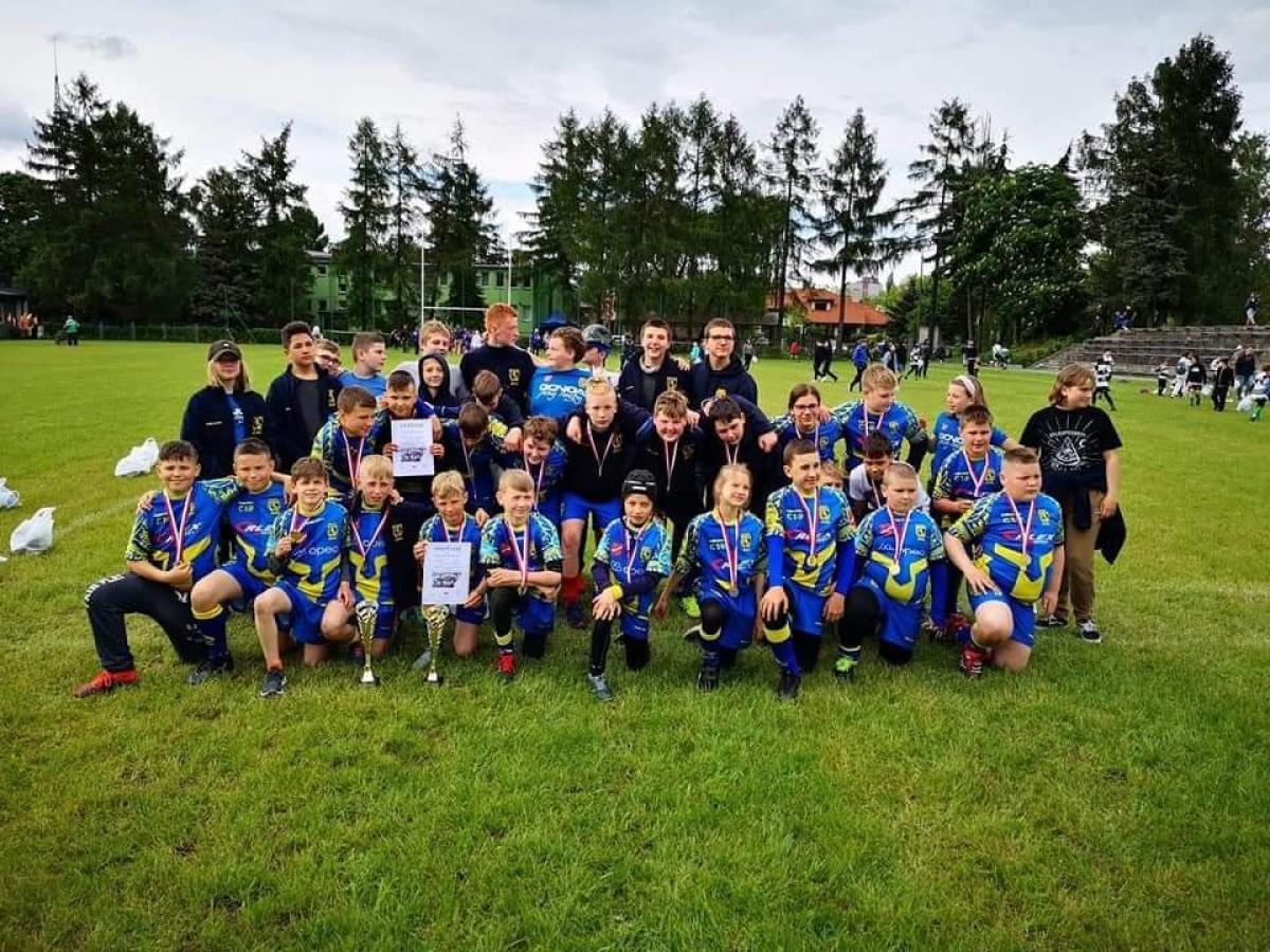 Rumscy rugbyści pokazali charakter w Łodzi