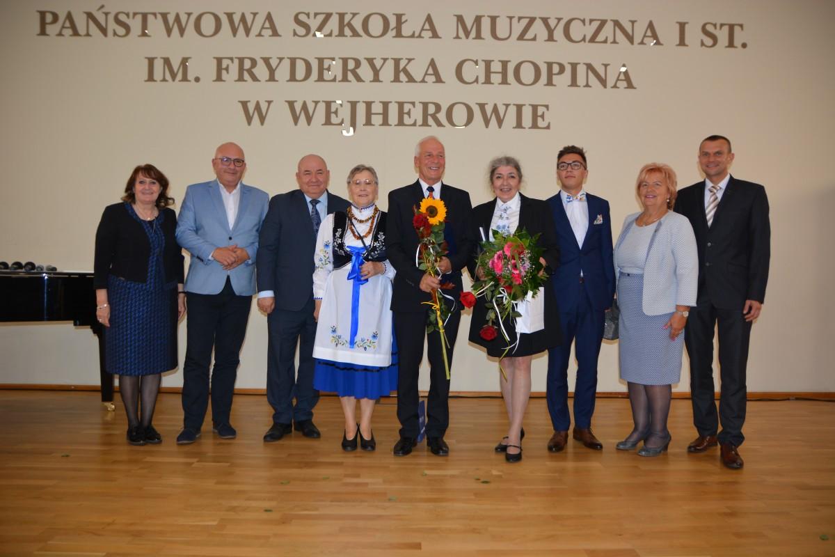 Mieszkańcy Rumi nagrodzeni podczas powiatowej gali kultury