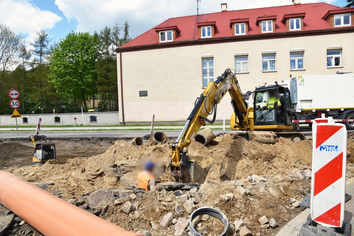 Nowa kanalizacja deszczowa na ul. Sabata. Ulewy nie będą już problemem