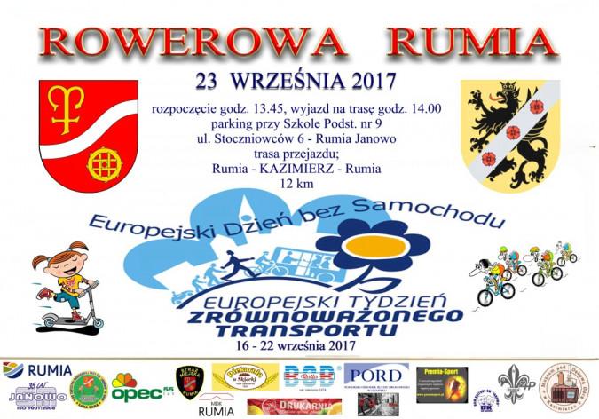 Rowerowa Rumia: Europejski Tydzień Zrównoważonego Transportu