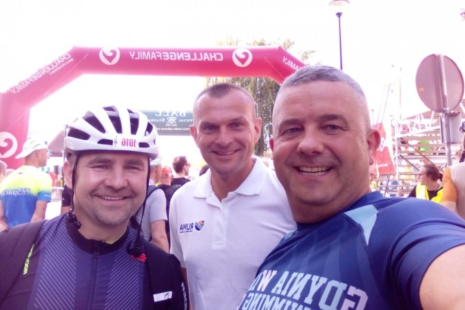Lotto Challenge Gdańsk. Rumia Team podjął triathlonowe wyzwanie