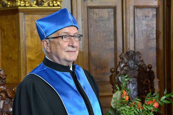Profesor Edmund Wittbrodt otrzymał tytuł doktora honoris causa Uniwersytetu Gdańskiego